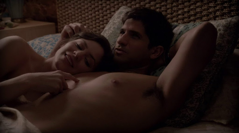 Raza Jaffrey Shirtless in Smash s1e01