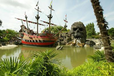 Disneyland París - Piratas del Caribe - que visitar