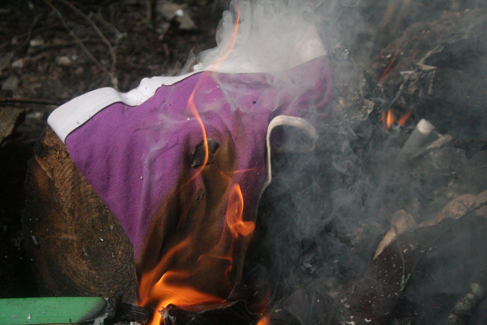 Brutal bra burning