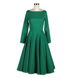 http://www.rosegal.com/vintage-dresses/vintage-boat-neck-flouncing-long-52900.html