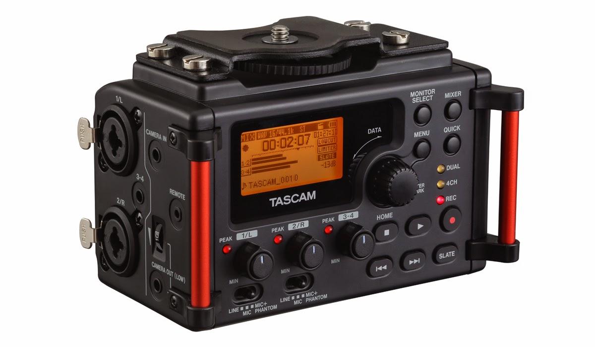 TASCAM DR-60DMKIIとDR-70Dの話 - InterBEE2014