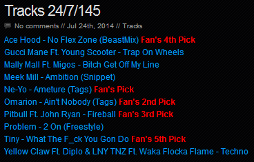 Download [Mp3]-[NEW TRACK RELEASE] เพลงสากลเพราะๆ ออกใหม่มาแรงประจำวันที่ 24 July 2014 [Solidfiles] 4shared By Pleng-mun.com