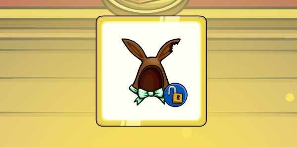 Club Penguin Codes 2015 Free Chocolate Bunny Ears