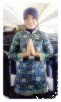 Gambar seragam batik pramugari