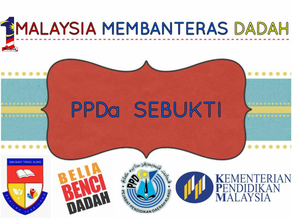 1 MALAYSIA MEMBANTERAS DADAH