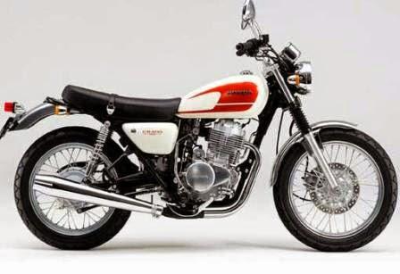 Modifikasi Honda CB 100, Gambar Modif Motor Simpel