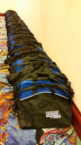 BSHAA Congress event delegate bags