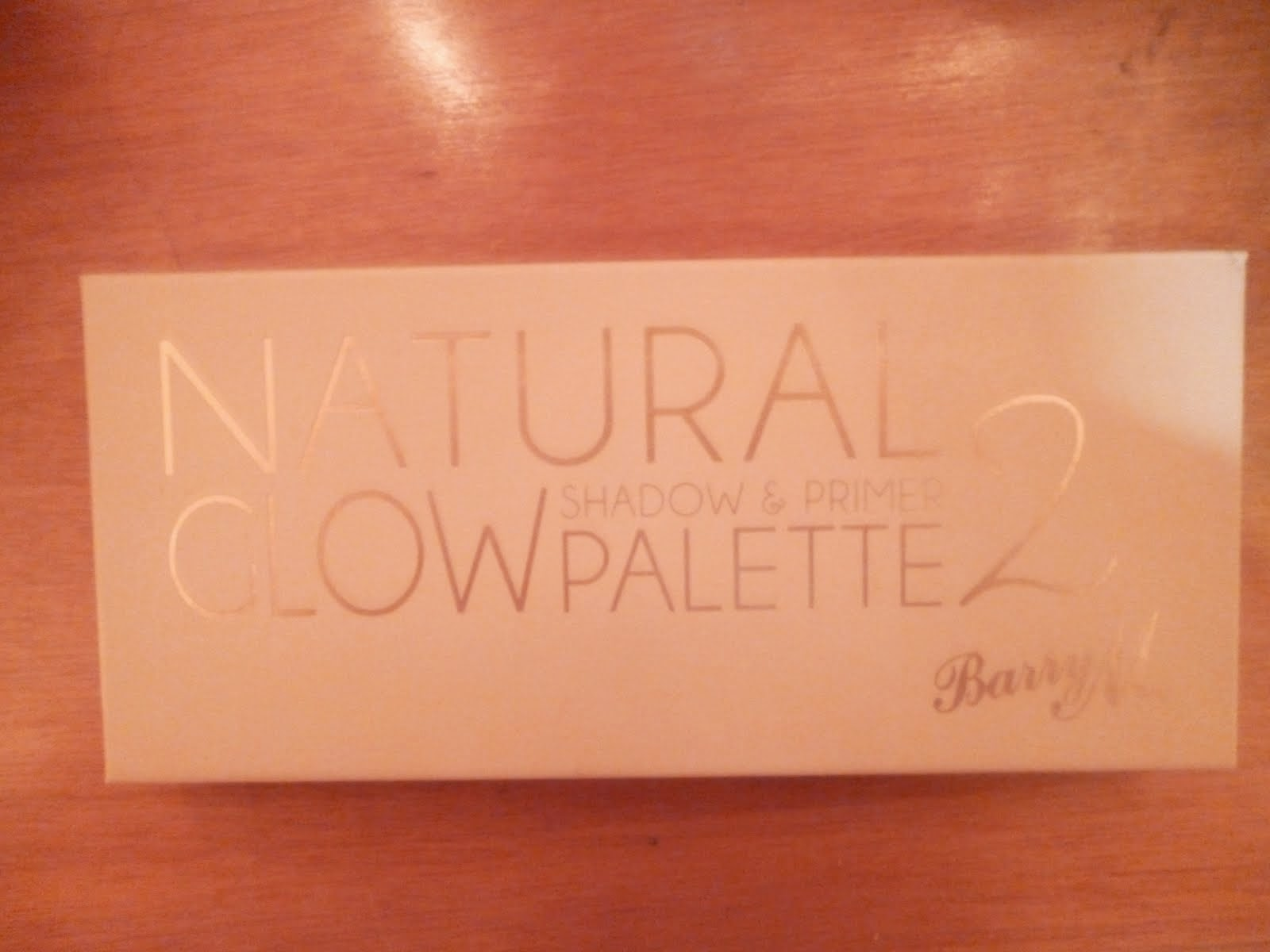 NATURAL GLOW PALETTE 2 από Barry M.