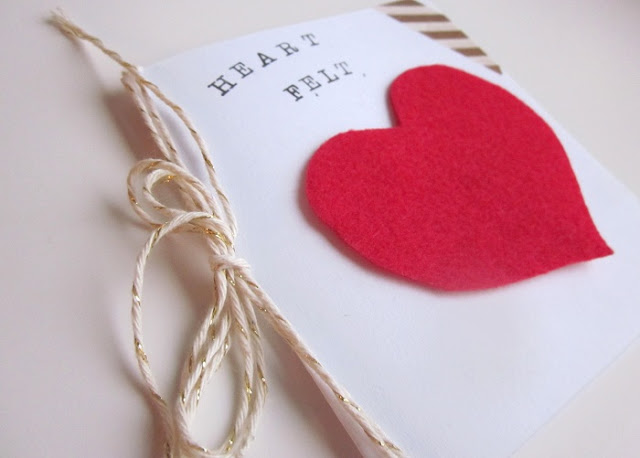 DIY - Heart Felt Valentine's Day Cards