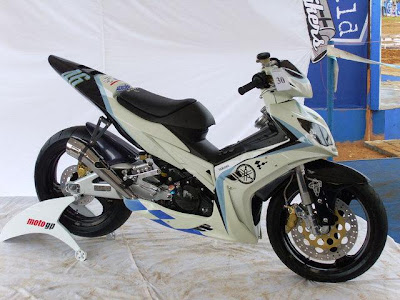 Service Motorcycle  YAMAHA JUPITER MX MODIFIKASI