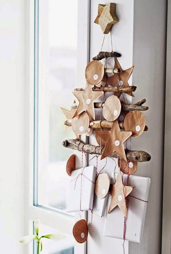 Con papel madera y cajas coloca un deseo para cada día