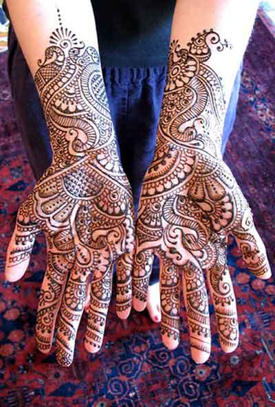 Where Do Mehndi Patterns Come From : Mehandi designs for hand say