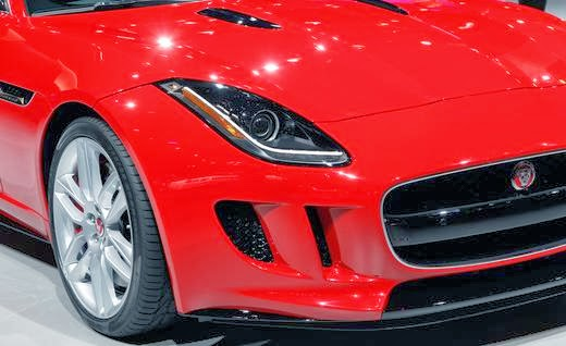 Gambar Jaguar F-Type R Coupe 2015 HD Wallpaper