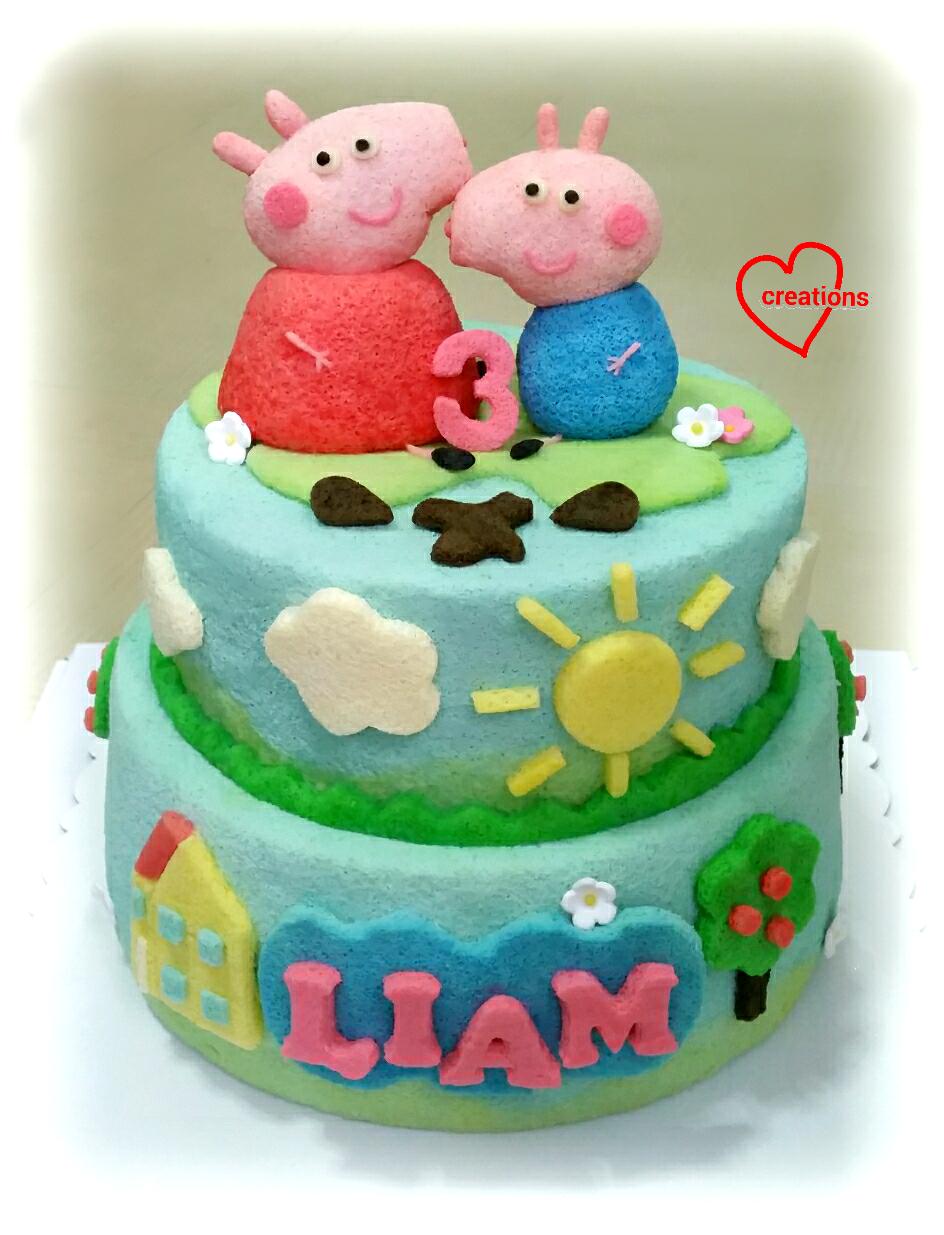 George Pig Cake Tin