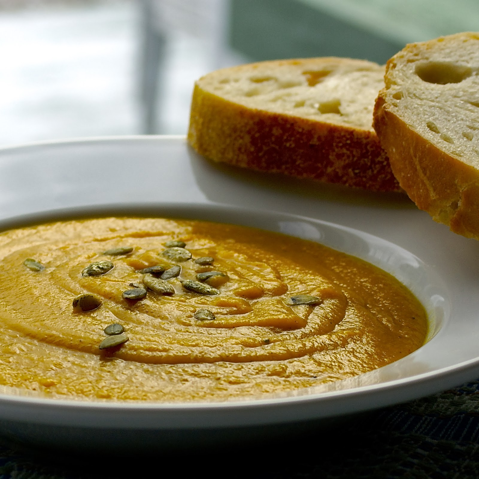 Velvety Squash and Red Lentil Soup