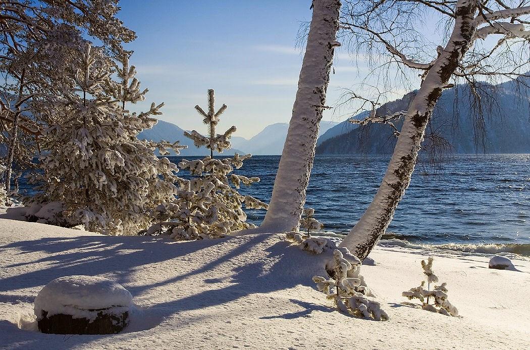 Kış manzaraları manzara resimleri karlı doğa resimleri kar