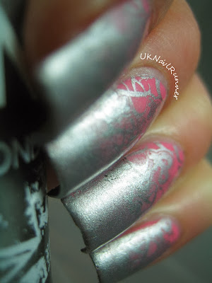 Binky London Pelham Pink and Sloane Silver
