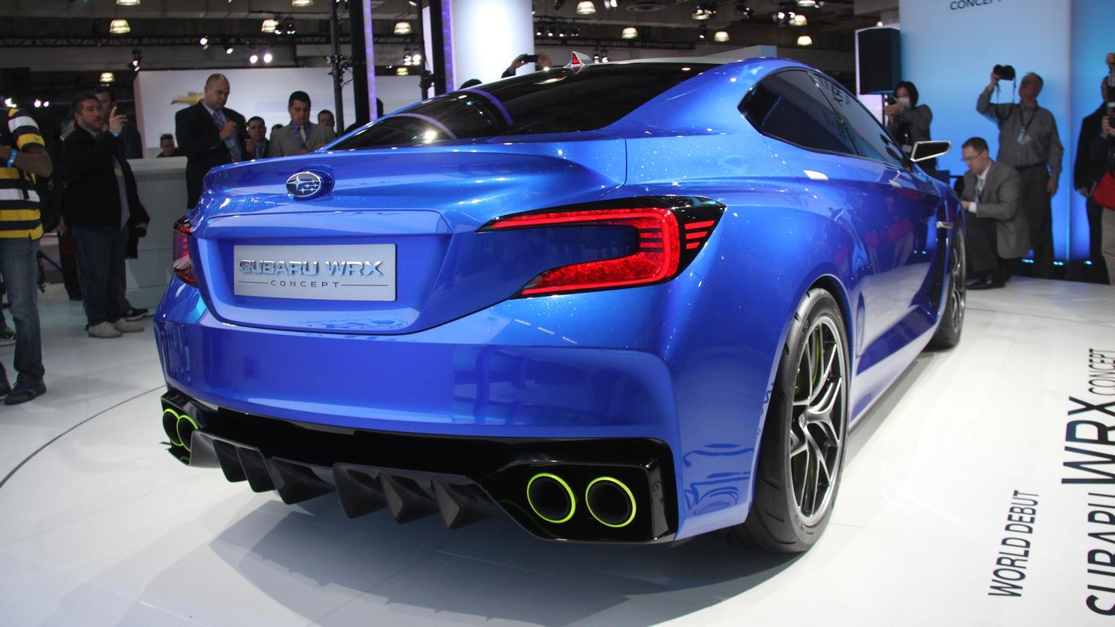 2015 Subaru WRX / WRX STI Concept Release Date | New Car ...