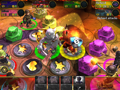 ios board game news Combat Monsters