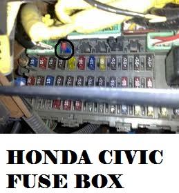 honda insight fuse box 97 civic fuse box diagram 2000 honda insight fuse box diagram #44