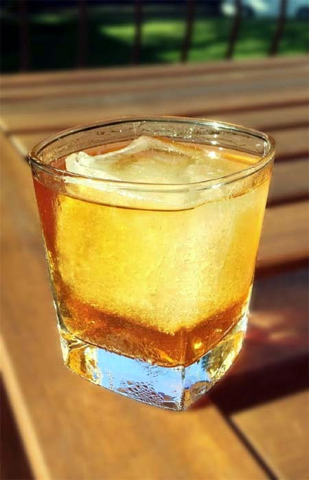 Easy Rum Old Fashioned Recipe