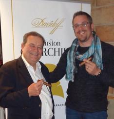 """4 mai 2015: avec Hendrik """"Henke"""" Kelner (Oettinger Davidoff)"""