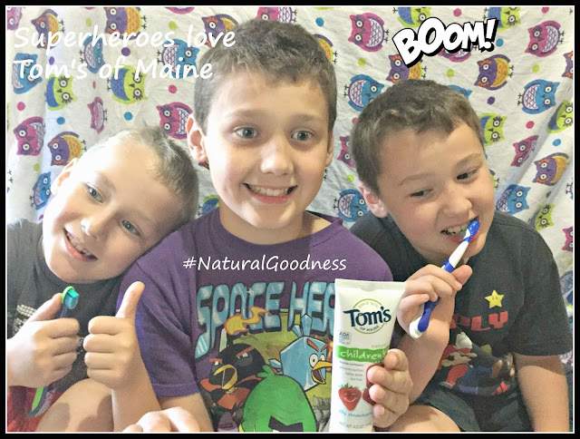 Living Naturally with Tom's of Maine #NaturalGoodness