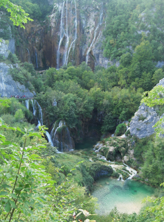 Plitvice lakes and waterfalls Croatia