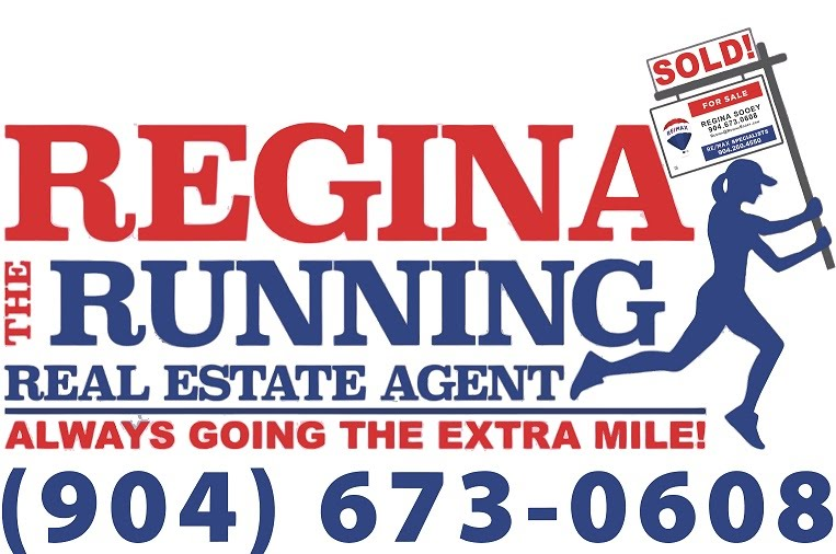 Regina the Running Real Estate Agent