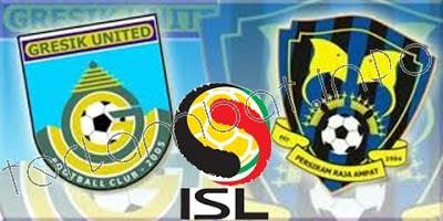 Hasil Akhir Gresik United VS Persiram ISL 8 Januari 2013