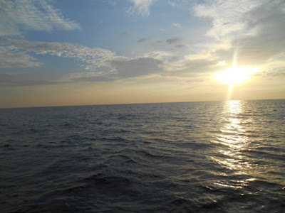 sunrise di laut sangatta, labuhan nanang