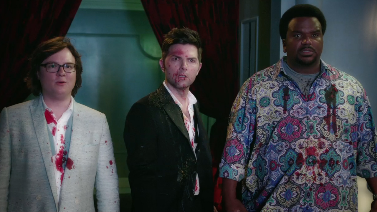 Rob Corddry Craig Robinson Clark Duke Adam Scott | Hot Tub Time Machine 2