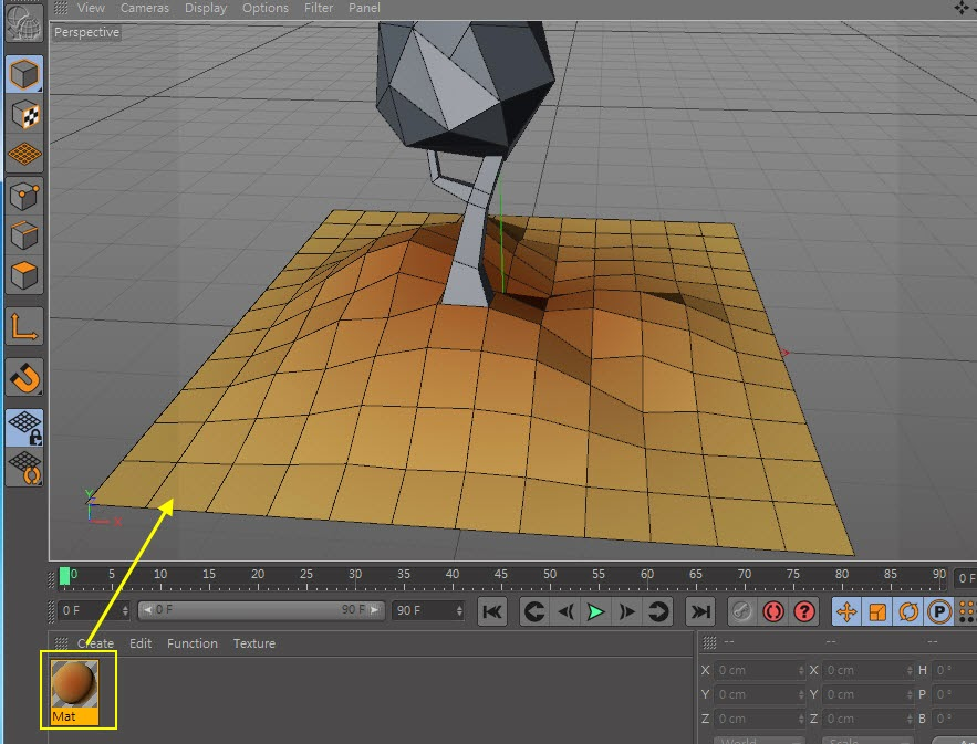 Low-Poly & GI Baking in Cinema 4D 07
