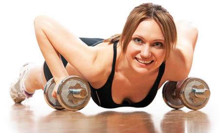 olahraga dapat memperindah bentuk payudara