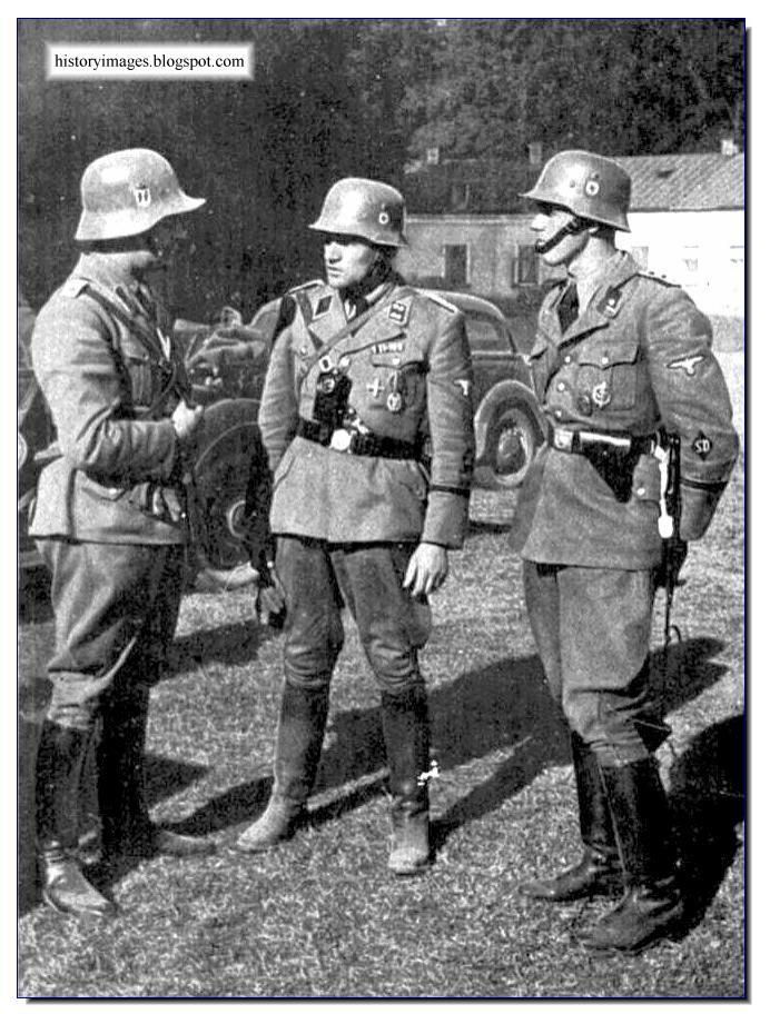 Einsatzgruppen officers  Nazi exterminators