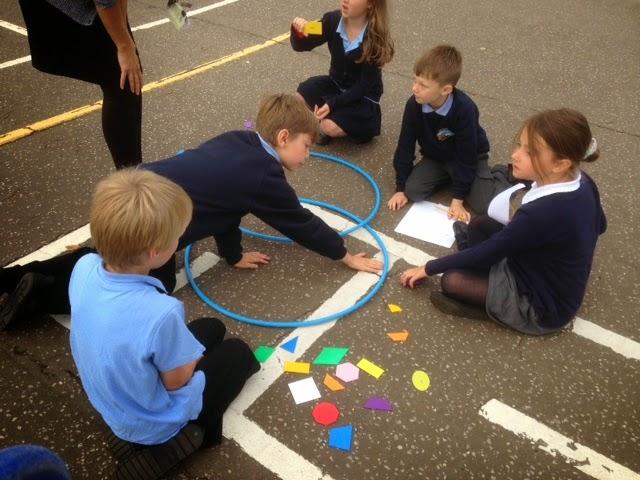 Cromer Junior School Y3 Using Venn Diagrams To Sort 2d Shapes
