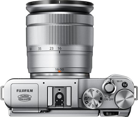 Fujifilm X-M1 Lens and Buttons Function