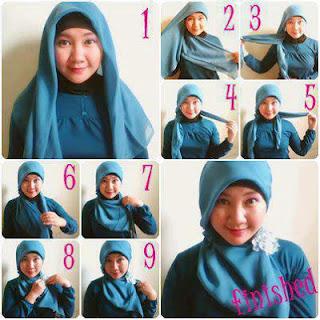 Menggunakan Jilbab