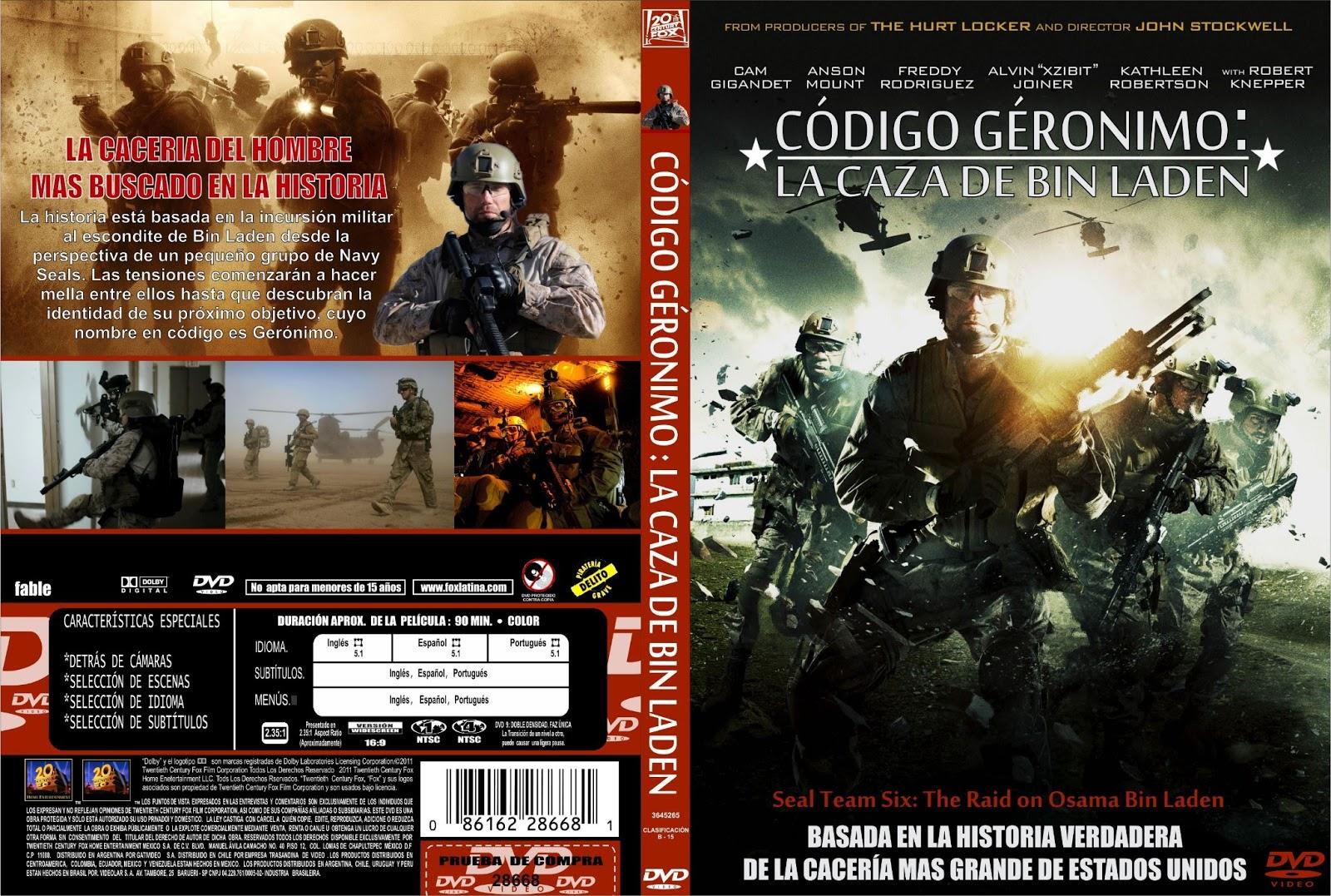 Código Gerónimo: La caza de Bin Laden (2012) DVDRip Latino 1Link BS