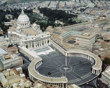 St.-Peter's-Basilica-and-St.-Peter's-Square