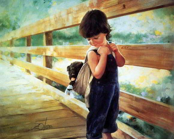 Karya Lukisan Anak Donald Zolan