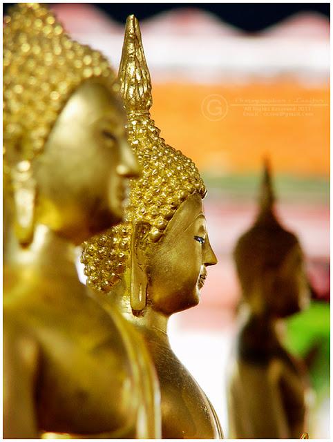 Photograph Monk Statue Wat