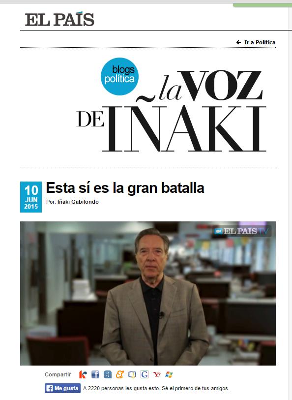 VOZ DE IÑAKI
