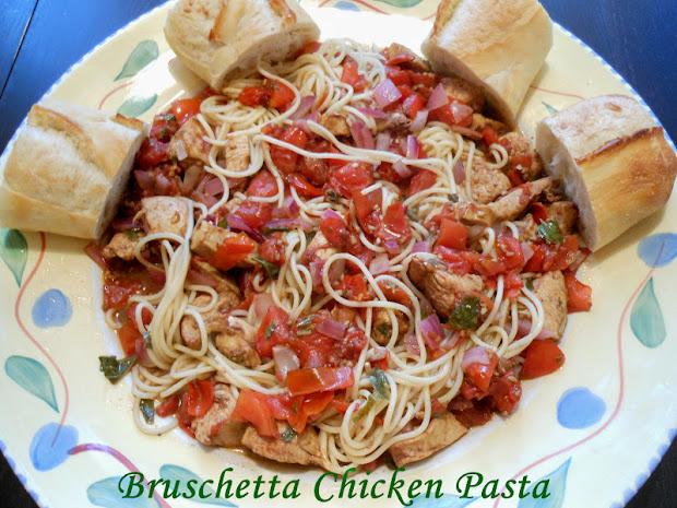 flavors four bruschetta chicken