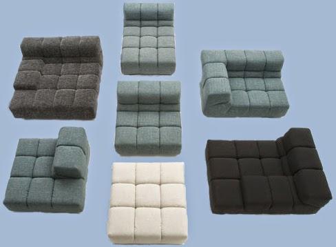 Dismueblesdeco sof s de patricia urquiola por b b italia for Sofas por modulos