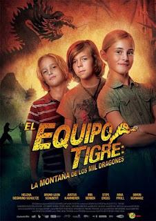 El equipo tigre, la montaña de los mil dragones (2011)