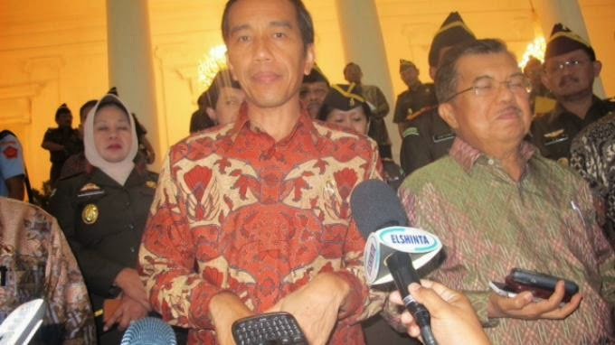 Lelucon Jokowi, JK dan Wartawan di Istana Bogor