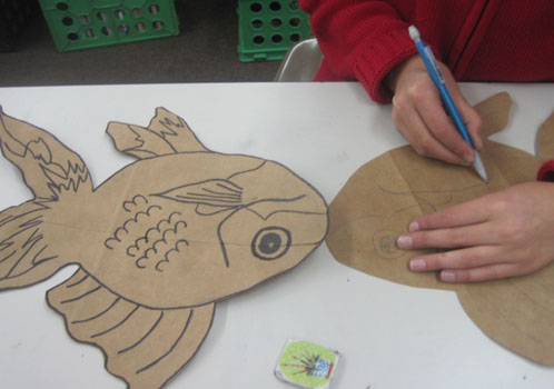 Paper Bag Fish Project