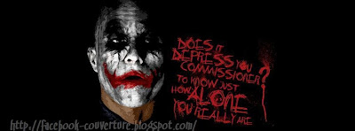 Couverture facebook joker
