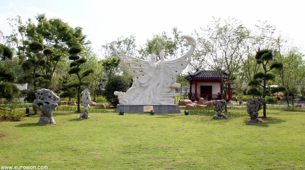 Visita a la expo de jardines de la bah a suncheon eurowon for Jardin chino